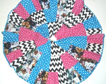 Dogs and Cats Twirl Skirt for Girls  Size 5 or 6