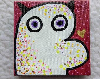Lucky (Monster Valentine Canvas)