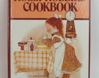 ReVISE 1979 Holly Hobbie Hardbound Recipe Book for Children American Greetings Vintage Cookbook