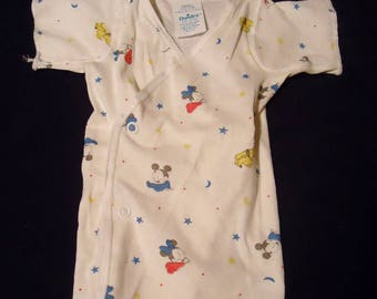 BABY Mickey Mouse & Friends Vintage 1980's Infant Unisex T-Shirt Small
