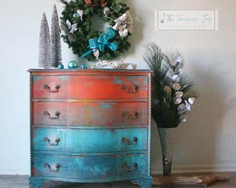 Dresser in a Gorgeous One Of A Kind Finish