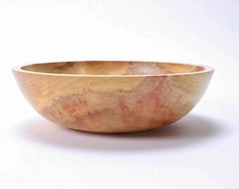 """Boxelder Burl Wooden Bowl #1550  8 5/8"""" X 2 1/2"""""""