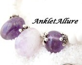 Anklet Amethyst Ankle Bracelet Purple Anklets for Women Beach Ankle Bracelet GUARANTEED