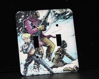Johnny Quest Bandit Switchplate Double Wall Plate Light Cover