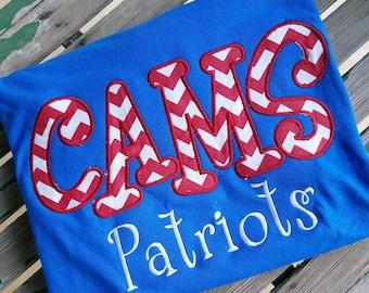 Custom School Mascot  Shirt Teacher Team Shirt