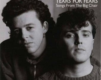 Songs from the big chair/vinyl record/tears for fears VG plus