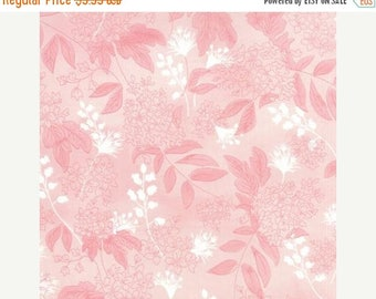 SALE 10% Off - Basic Grey - BLUEBELL BOUTIQUE Pink Flambe  30392-13 - Fresh Cut by Moda Fabrics - By the Yard