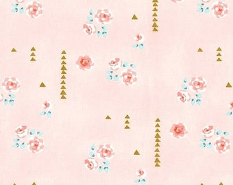 SALE 10% Off - ROSEMILK in Cameo  dc6458 - BRAMBLEBERY Ridge by Violet Craft - Michael Miller Fabrics - By the Yard