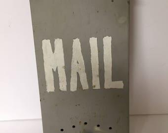 Vintage Rustic Farmhouse Mailbox