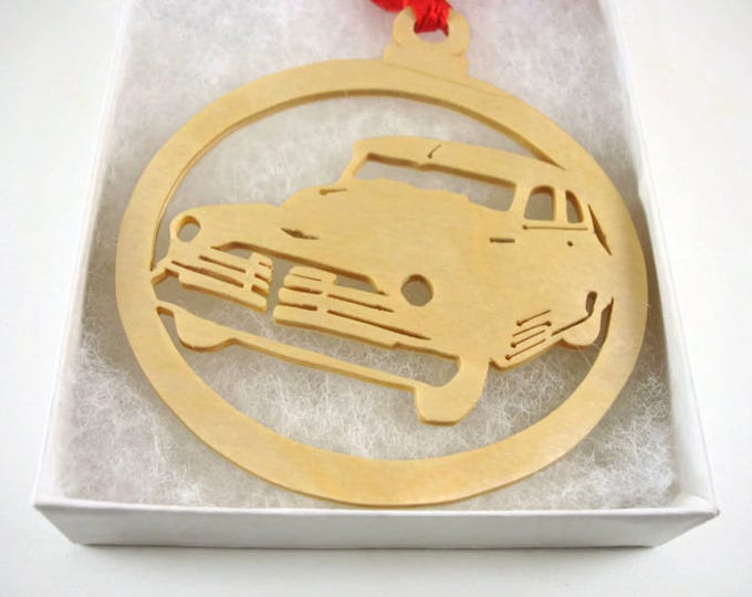 1947 Chevy Fleetmaster Christmas Ornament Handmade From Birch Wood By KevsKrafts