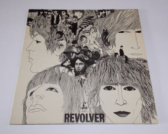 The Beatles - Revolver  - LP Vinyl Record Album  - 60's / Classic / Psychedelic / Rock