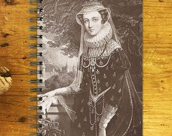 Notebook, Journal, Sketchbook - Mary queen of Scots