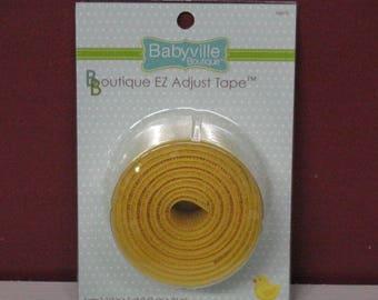Babyville Boutique EZ Adjustable Tape Yellow