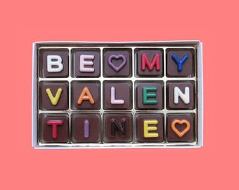 Spell out your wishes Personalized Chocolate by WhatCandySays
