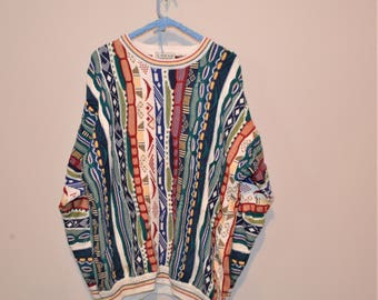 Vintage 80's Sweater Stripes and Patterns