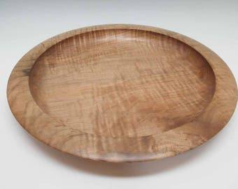 Large Tiger Maple Serving Platter