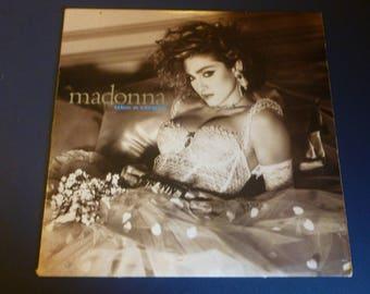 Madonna Like A Virgin Vinyl Record LP W1 25157 Sire Records 1984