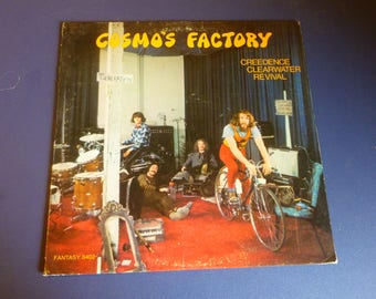 Creedence Clearwater Revival Cosmo's Factory Vinyl Record LP FANT-8402 Fantasy Records 1970