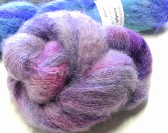 Moonlight Kid Mohair Silk golden sparkle yarn