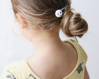 Kids Hair Clips -  Girl Power