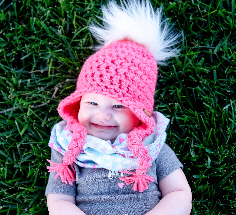 discount code for baby boy knitted pom pom hats ebay b4473 7e105 0b02866ecf0