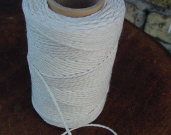 Cotton Yarn - Natural and Elegant COTTON TWISTED CORD