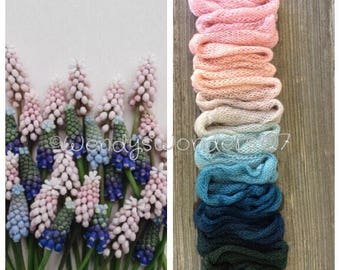 Lace Weight Yarn, Hand Dyed Yarn, Lace Yarn, Gradient Yarn, Hand Dyed Gradient, SW Merino/silk