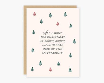 Feminist Holiday Card