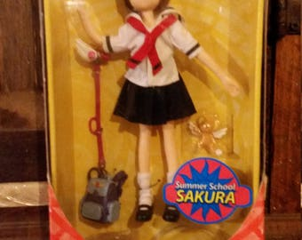 Cardcaptors Fashion Doll Summer School Sakura MINT