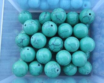 10mm Magnesite Gemstone Beads