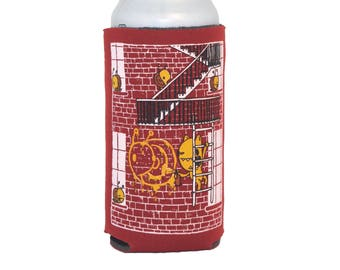 graffiti 16oz can coolie, craft beer gift, beer cozy, street art, gifts under 10