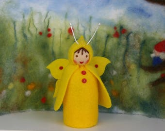 Brimstone butterfly / butterfly child / springtime / waldorf inspired / Nature Table