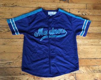 Vintage MLB baseball Seattle Mariners Ken Griffey Jr Starter jersey