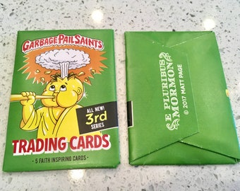 Pack of Garbage Pail Saints Trading Cards / Series Three