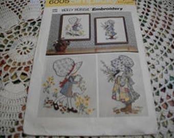 Holly Hobbie Embroidery Transfers