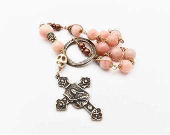 Unbreakable single Decade Rosary of Saint Theresa The Little Flower