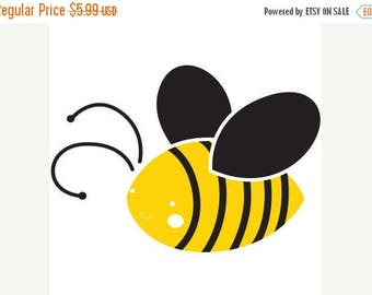 ON SALE Bee Stencil for Painting Bees on Wall for Baby Kids Room (SKU100-istencil)