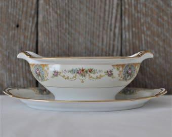 Easter hostess gift etsy noritake coypel gravy boat replacement serving elegant wedding easter dinner negle Images