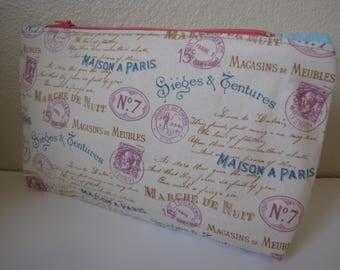 makeup bag/makeup pouch/zipper pouch/toiletry bag