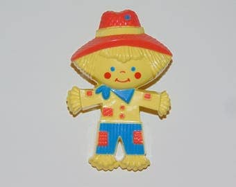 Vintage AVON Fragrance Glace Peter Patches Pin Pal Scarecrow 1975