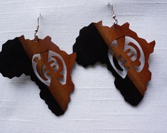 African Jewelry,Tribal earrings, Ethnic earrings, Handmade Earrings