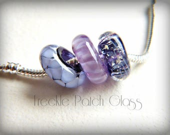 Pet Cremation Charm Bead , Large holes , Memorial