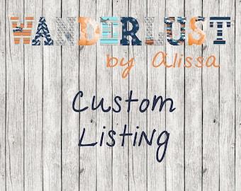 Custom Listing for REEM - Custom 14 Inch Letters