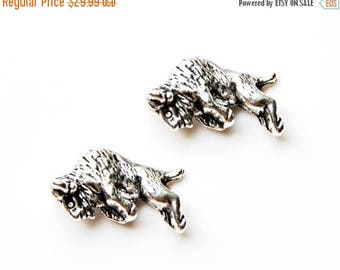 Limited Time Offer Bison Cufflinks - Gifts for Men - Anniversary Gift - Handmade - Gift Box Included