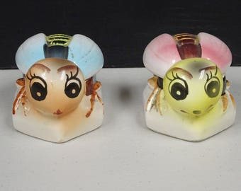 Mini Bee Honey Pots