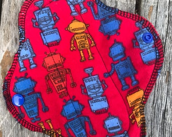 Flannel Pad/Cotton Pad/Moon Cycle/Pantyliner/Robots