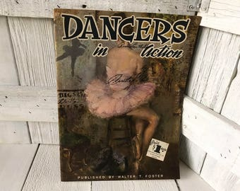 Vintage book Dancers in Action Walter Foster art instruction 1950s- free shipping US