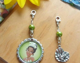 10 Tiana Zipper Pulls Party Favors