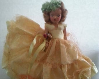 Now On Sale Vintage 1930's 1940's Doll Collectible