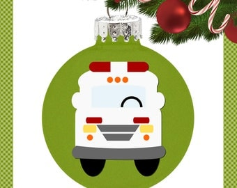 Whimsical Ambulance with svg, dxf, png, eps Commercial & Personal Use